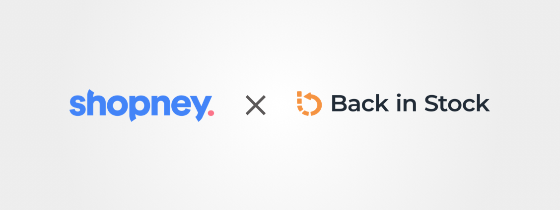 Shopney & Back In Stock Logos