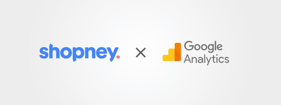 Google Analytics & Shopney Logos