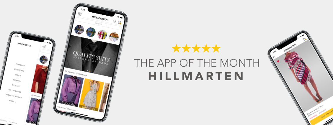 App of the month Hillmarten Screenshots