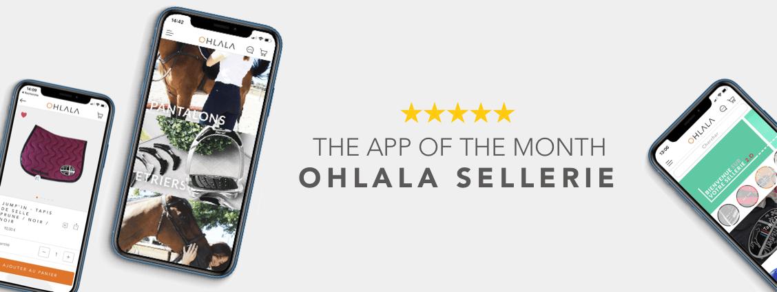 Ohlala Sellerie Mobile App Screenshots