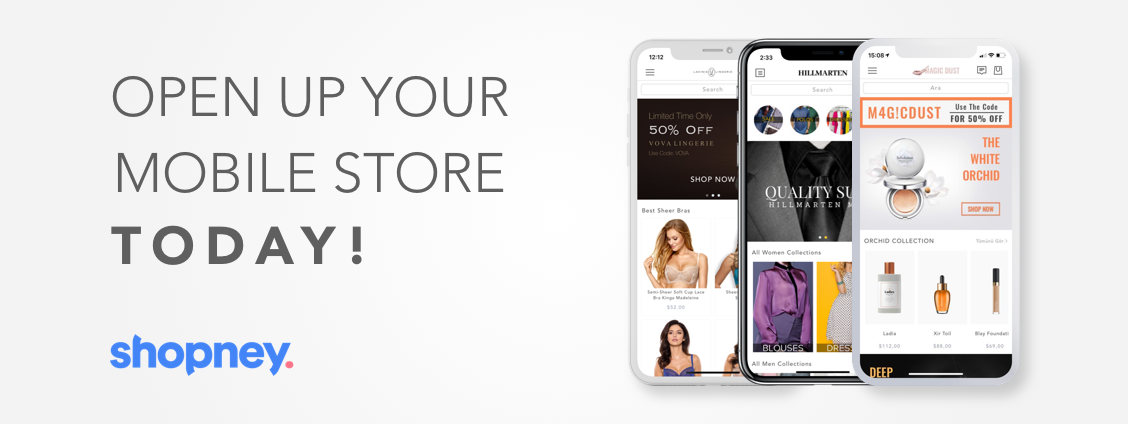 Shopney - Mobile App for your Shopify store