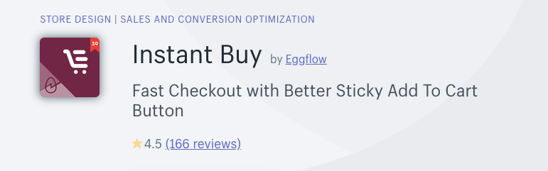 instant buy by Eggflow