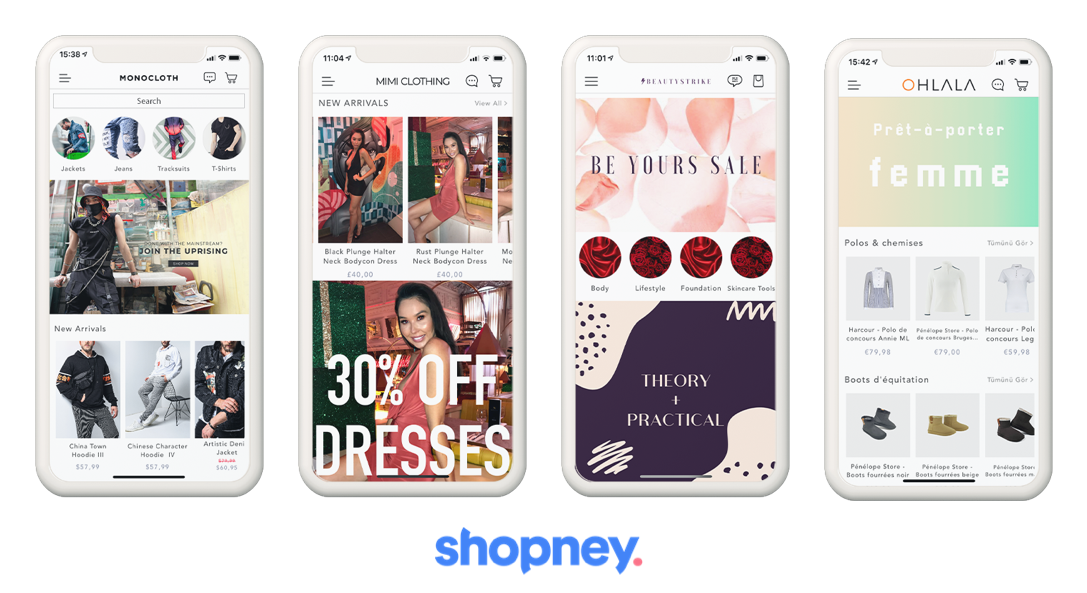 mobile app for shopify store