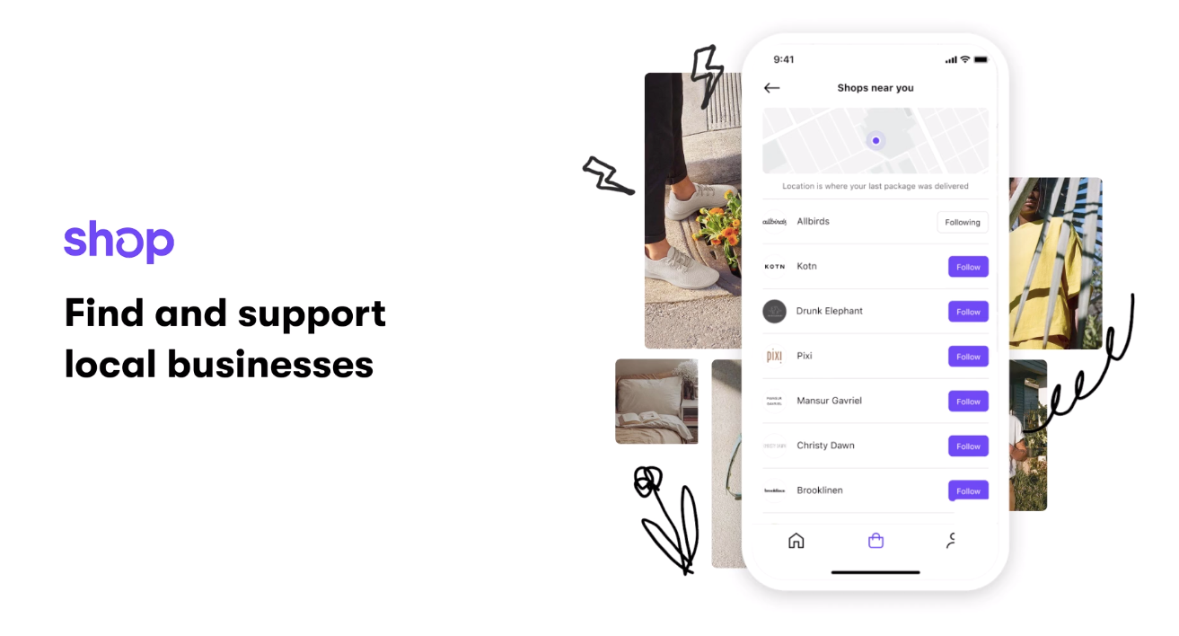 Shop app for Shopify stores