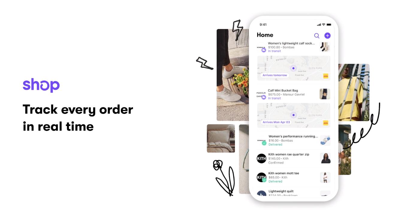 Shop app by shopify