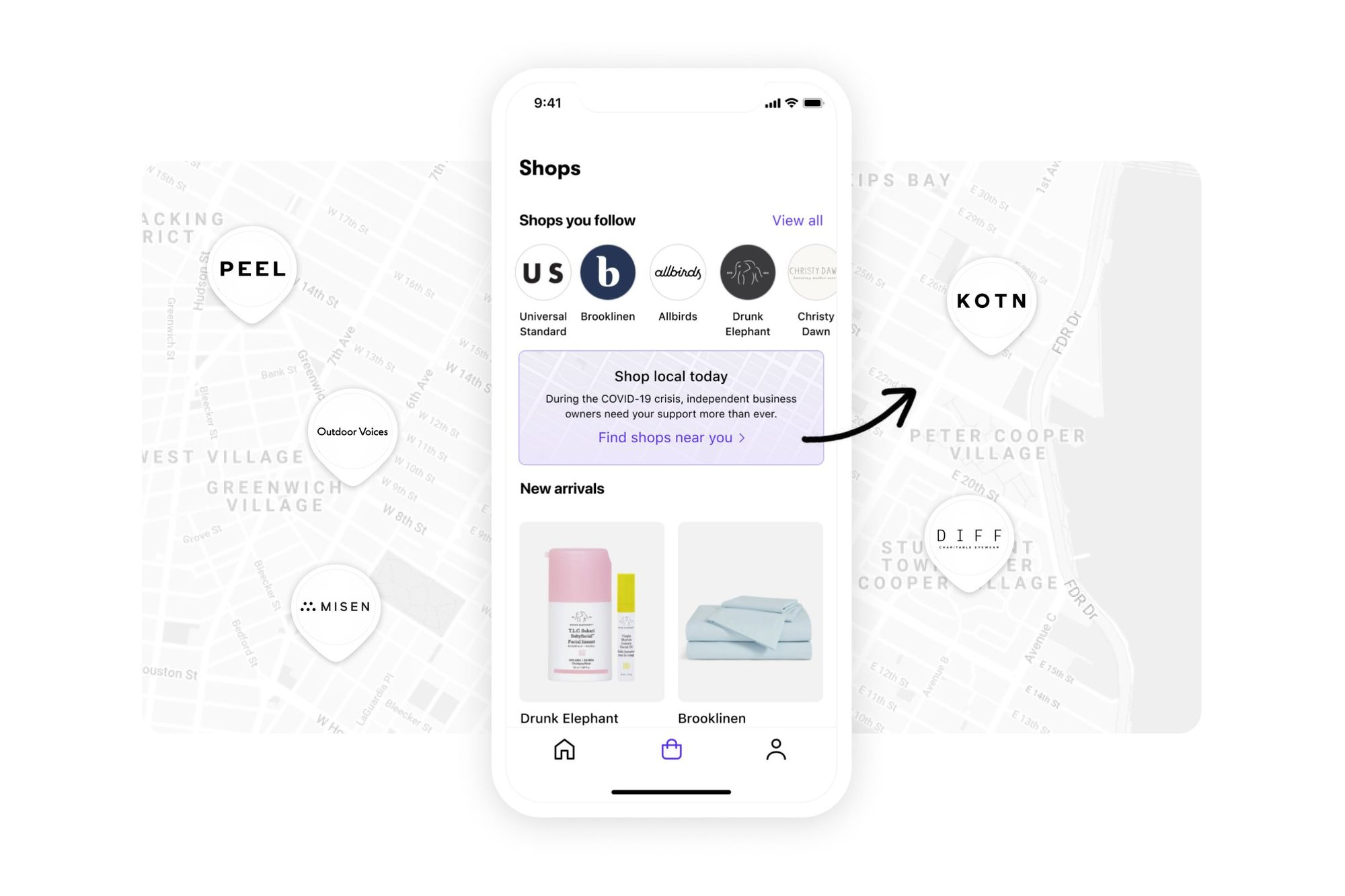 Shop app helps small businesses