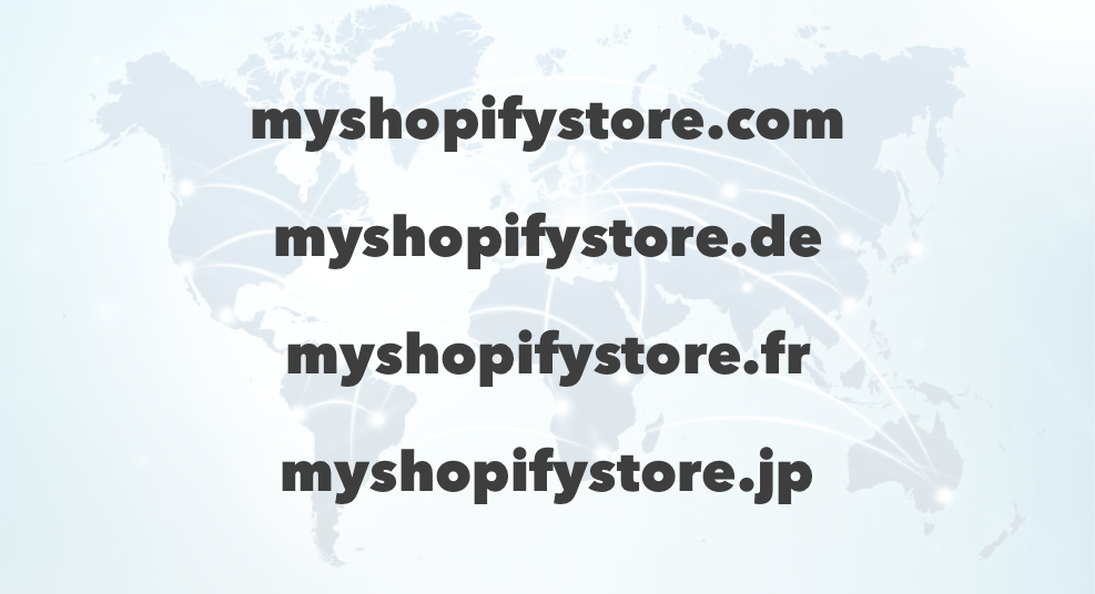shopify local domains