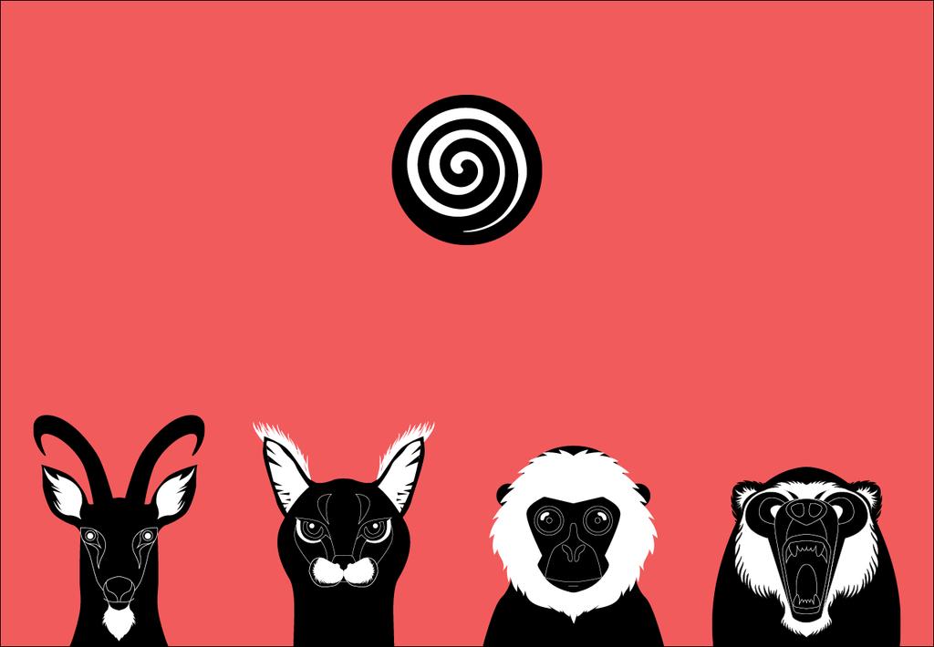 Brilliant looking animal icons of Lumia Coffe