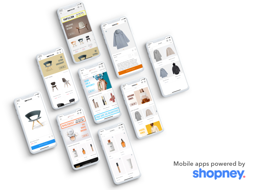 building mobile apps for Shopify store - Shopney