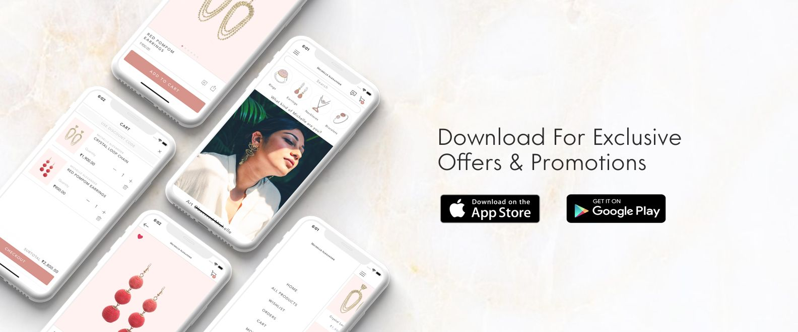 An example of mobile app banner for your website
