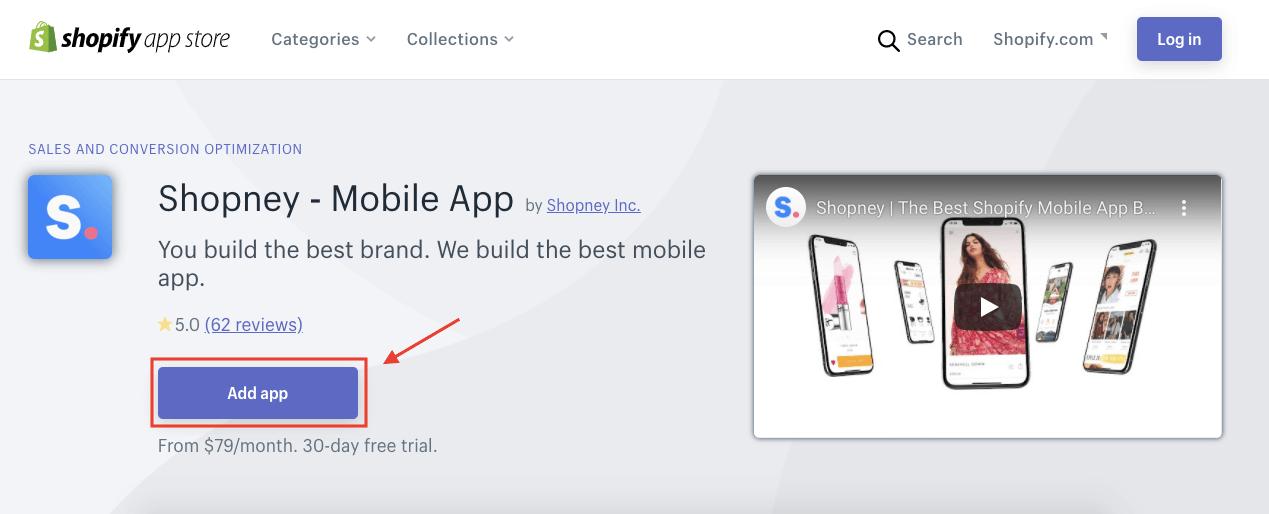 Shopney Mobile App - Shopify App Store