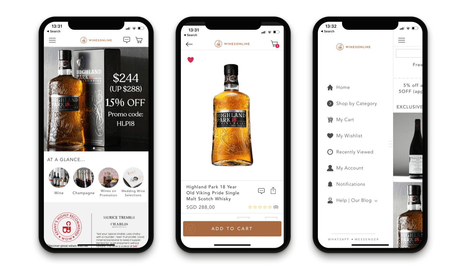 Shopify native mobile app developer - Wines Online