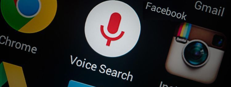 Voice search on mobile