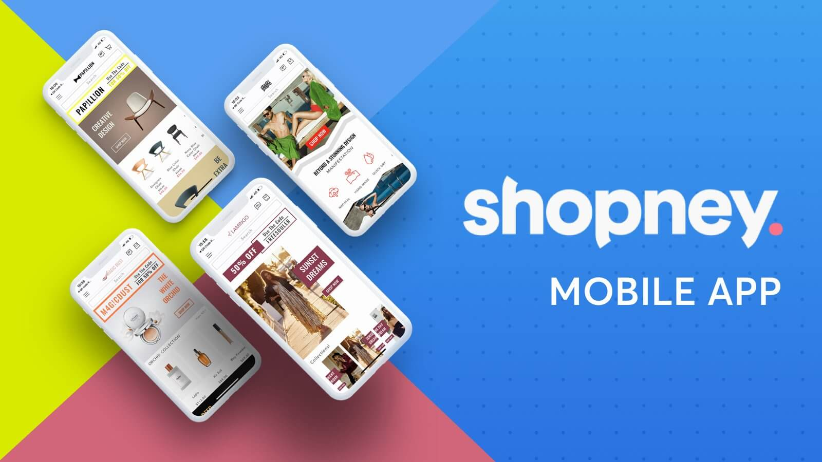 mobile app builder - shopify