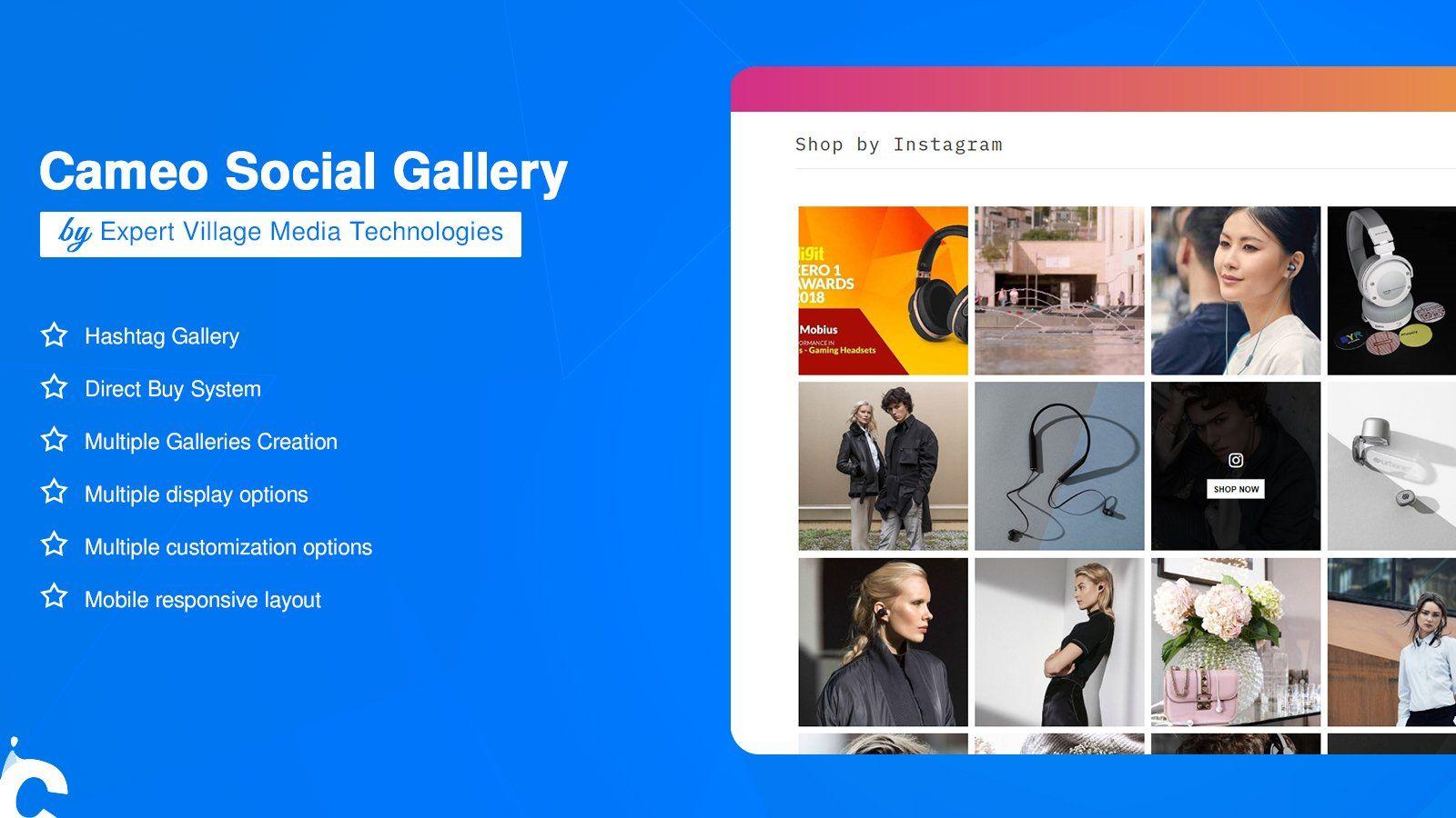 shoppable instagram - shopify