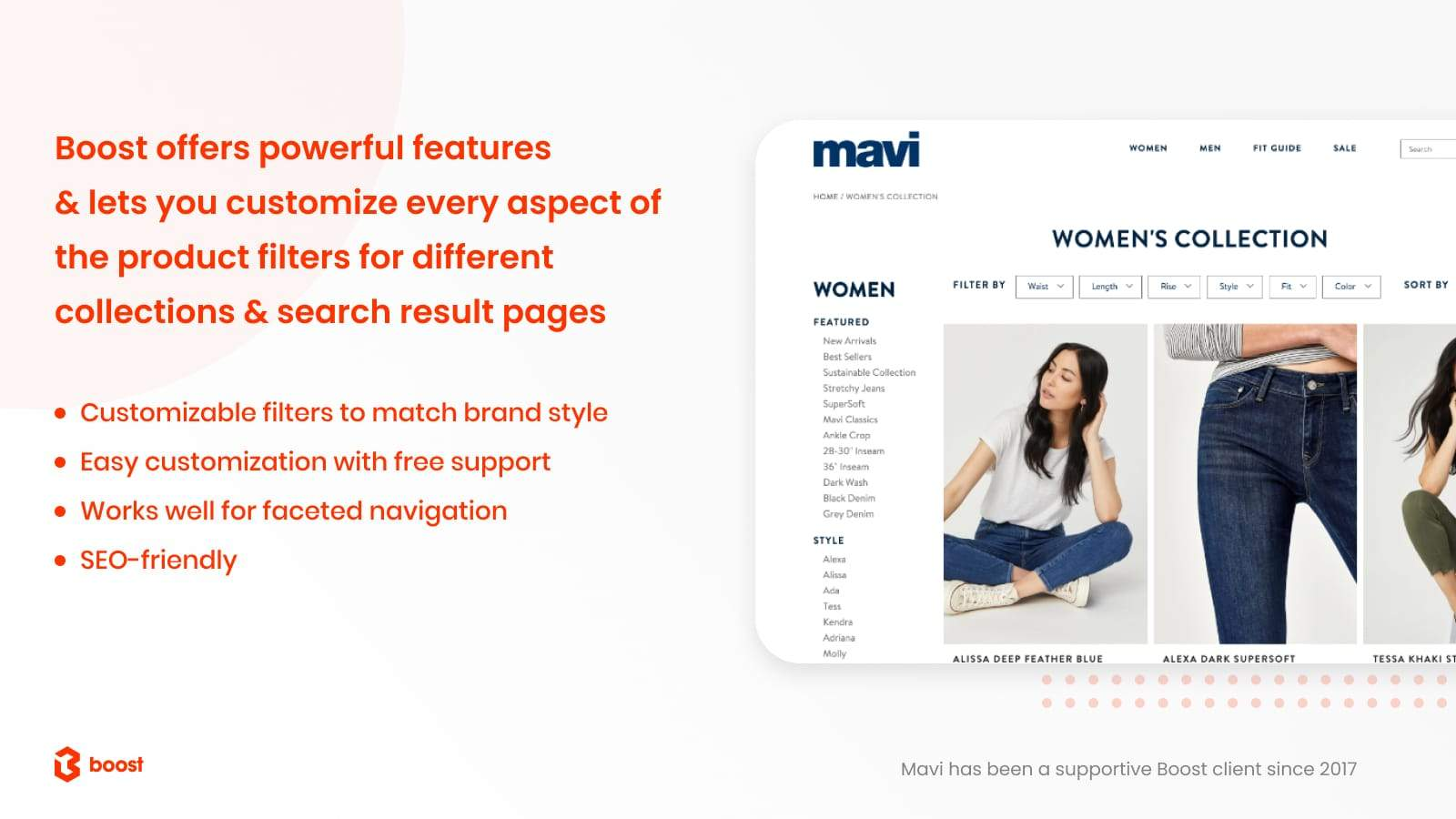 shopify advanced search and filter