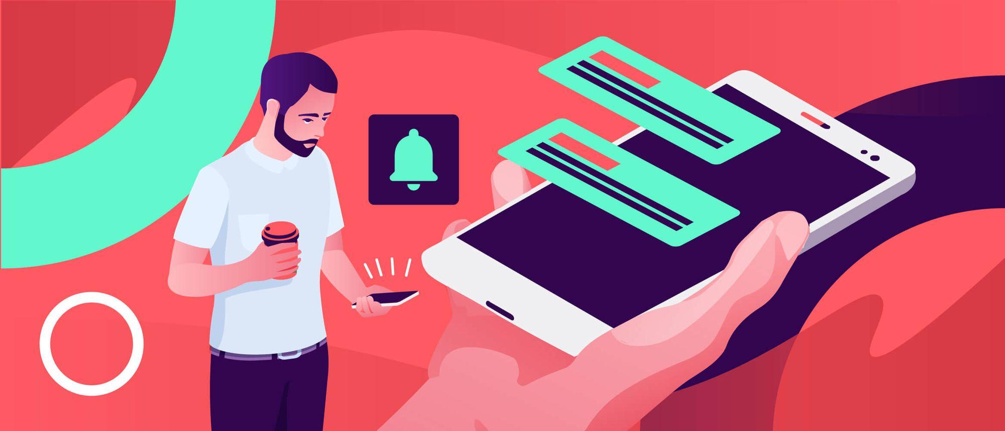 push notifications - convert web store into mobile app
