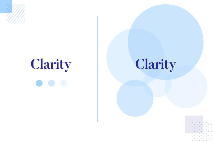 using white space in design